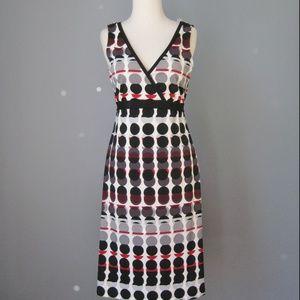 Yves Cossette Knit Surplice Style Dress Size 4